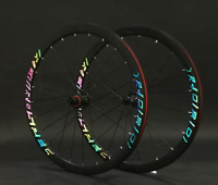 RS AL Road Bike Wheelset Clincher 40mm Disc Brake Thru Axle/QR 700C Wheelsets