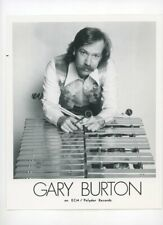 GARY BURTON Jazz Vibraphonist - VTG Original 1970s Press Photo Polydor Records
