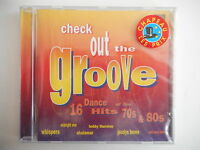 CHECK OUT THE GROOVE - 16 DANCE HITS, 70s & 80s [ CD ALBUM NEUF ] - PORT GRATUIT