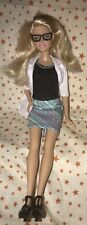 BARBIE FASHIONISTAS doll With Clothes Shoes CAREERS EYE Doctor Dr Outfit Glasses