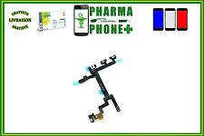 NAPPE FLEX BOUTON POWER ON / OFF - VIBREUR - VOLUME - IPHONE 5 + SUIVI GRATUIT