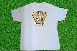 Vintage Underdog Cartoon T-Shirt Grey Size XL