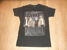 Vintage The Vamps Indie Rock North American Concert Tour Shirt Adults Medium!