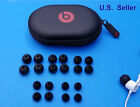 20 Spare Gels + Hard Case Kit for Beats BeatsX. Round Ear tips buds multi-Sizes.