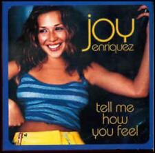 Joy Enriquez: Tell Me How You Feel PROMO w/ Artwork MUSIC AUDIO CD Edit Instrum