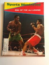 Sports Illustrated March 15, 1971, End Of The Ali Legend!