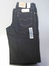 Made in USA Levi's Men's 550 Relaxed Fit Jeans All Black Size 34x40