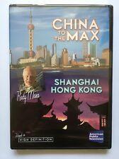 China to the Max (DVD, 2007 Shanghai Hong Kong Rudy Maxa Travel Brand NEW Sealed
