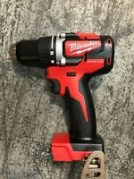 Milwaukee 2801-20 M18 18-Volt Lithium-Ion Brushless 1/2 in. Compact Drill/Driver