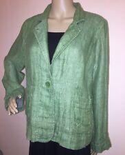 Tailleur e abiti sartoriali da donna della giacca di lino