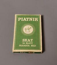 More details for vintage piatnik skat card game, c1950s