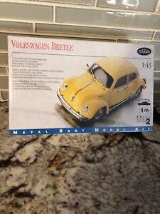 1998 Testor's Volkswagen Beetle 1:43 Metal Body Model Kit No 137 FACTORY SEALED
