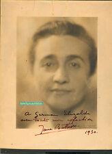 OPERA JANE BATHORI FRENCH SOPRANO DEDICATET & SIGNED  PHOTO