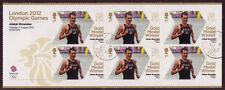 GREAT BRITAIN LONDON 2012 ali. Brownlee Triathlon MINIATUR Sheet f.used OLIMPIADI