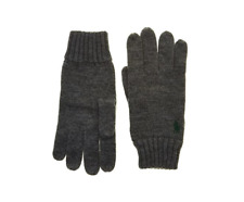 Polo Ralph Lauren Grey Merino Gloves - Brand New With Tags