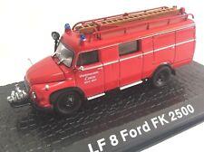LF8 Ford FK 2500 Camión bomberos fire truck 1/72 ATLAS Diecast