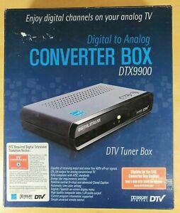 Digital Stream DTX9900 Digital-to-Analog DTV Tuner Converter Box New Sealed