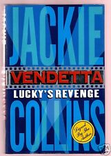 VENDETTA-LUCKY'S REVENGE-JACKIE COLLINS SIGNED HB 1ST-VERY GOOD CONDITION