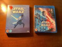 dvd Blu ray Star Wars the rise of skywalker   new sealed  uk version