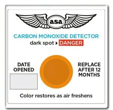 5 NEW ASA Carbon Monoxide Detector ASA-CO-D Auto Car Boat Truck Airplane