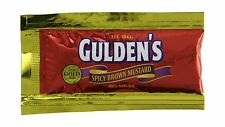Gulden's Spicy Brown Mustard Packets 0.32 Ounce (Pack of 500) Free Shipping