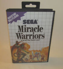 Miracle Warriors: Seal of the Dark Lord Sega Master System SMS Complete CIB Map