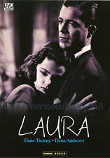 Laura (1944) - Gene Tierney, Dana Andrews - DVD NEW