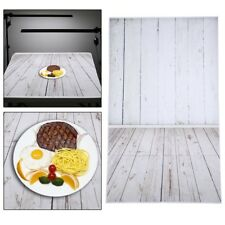 5x7ft Gray White Wood Wall Studio Backdrops Cloth Photography Photo Background
