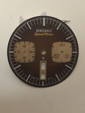 ORIGINAL SEIKO DIAL BROWN FOR 6138-0040 Speed-Timer BULLHEAD