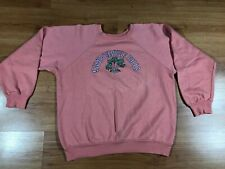New listing Vintage Womens Camp Beverly Hills 1977 Peach Pullover Top Rare Size S-M