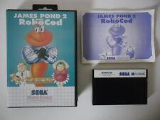 JAMES POND 2 CODENAME ROBOCOD - SEGA MASTER SYSTEM - COMPLET