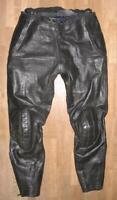 WOW!!! Herren- Motorrad - KOMBIHOSE / Lederhose in schwarz ca. Gr. 50/52