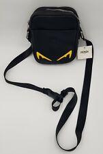 Fendi  Man Small Bag Black with Yellow eyes