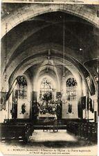 CPA  Rumigny - L'Intérieur de l'Eglise (241165)