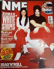 NME MAGAZINE MARCH  2003 - THE WHITE STRIPES- BLUR- COLDPLAY