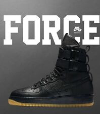 Nike SF AF1 Special Forces Air Force 1 Black Gum Size 14 What The Jordan DS!