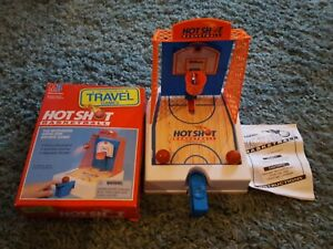 Vintage Travel Games Hot Shot Basketball Milton Bradley Complete w/ Box 1992