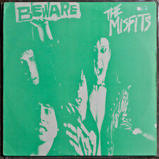 The Misfits ‎– Beware LP 1989 GREEN COVER VERSION