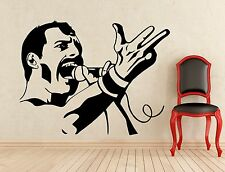 Freddie Mercury Wall Decal Music Queen Vinyl Sticker Art Decor Mural (186s)