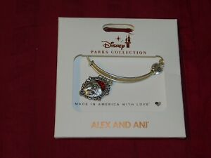 Disney Parks Alex and Ani Cruella Schooled in Cruel Charm Bracelet Silver New