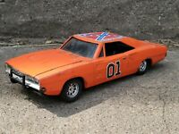 Ertl General Lee 1969 Dodge Charger Dukes Of Hazzard 1:25 Diecast Model Car 1981
