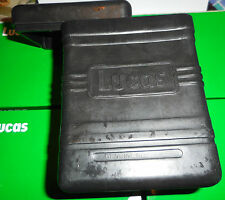 BSA M20/21... B31/33... AJS ETC.. LUCAS en relief en Caoutchouc Noir Batterie Box