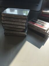 JOB LOT 10 X USED CASSETTE TAPES - GREAT VALUE