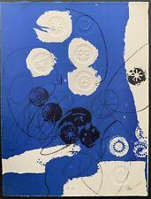 "Antoni Clave ""TROBADORS"" 1970 Hand Signed artist proof E.A. (épreuve d'artis) 13"