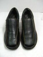 BOC Born Concept Womens  Loafers Shoes Size 10 M  Black Leather  #B