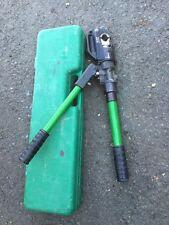 Greenlee HKL1230 Hydraulic Hand Crimper W/ Case 1989 1990