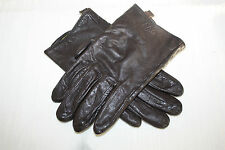 PER UNA MARKS AND SPENCER LADIES DRIVING GLOVES BROWN SIZE M