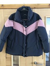 🧣🧤 Ladies F&F Winter Padded Coat ⭐️ Size 18 Worn Once 🧤🧣