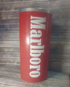 "Ashtray Marlboro standing floor bar 21"" vintage collectible"
