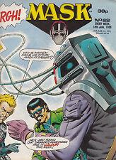 M.A.S.K. - #62 - 1988 Original UK-Comic zur Toyline DC Phantasie ist ihre Stärke